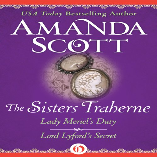 The Sisters Traherne audiobook cover art