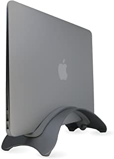 LAMPO®【メーカー2年保証】 アルミ ノートPC スタンド Apple MacBook Pro/Air クラムシェル 【日本ブランド】 収納 stand 立て 冷却 Laptop ラップトップ マックブック (スペースグレイ)