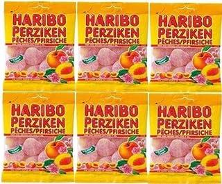 ハリボー ピーチ グミ200g×6袋