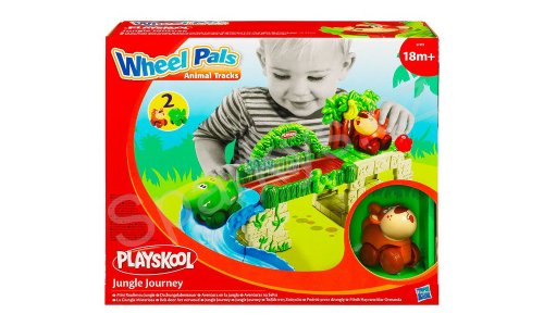 PLAYSKOOL Wheel Pals Minis Dschungel (274191480)