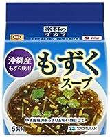 マルちゃん 沖縄産もずくスープ5P×24袋