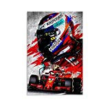 Kimi Raikkönen F1 Race Poster Legend of F1 Race finnische