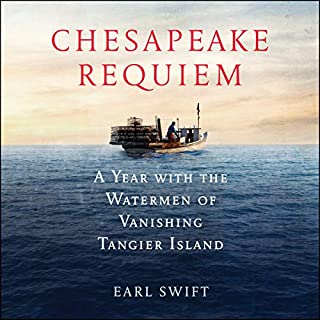 Chesapeake Requiem audiobook cover art