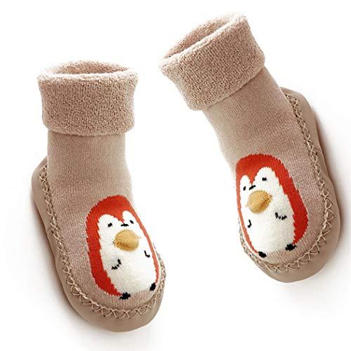 Kinder Kleinkinder Newborns Anti-Rutsch-Socken Gummisohle Socken Stiefel Cartoon Slipper Socken Für 18-24 Monate Baby