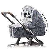 Zamboo - Protector de lluvia universal para cochecitos y capazos de bebé -...