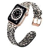 TRUMiRR Remplacement pour Apple Watch Series 6/SE 40mm 38mm Bande de Montre, Bracelet en Cuir...