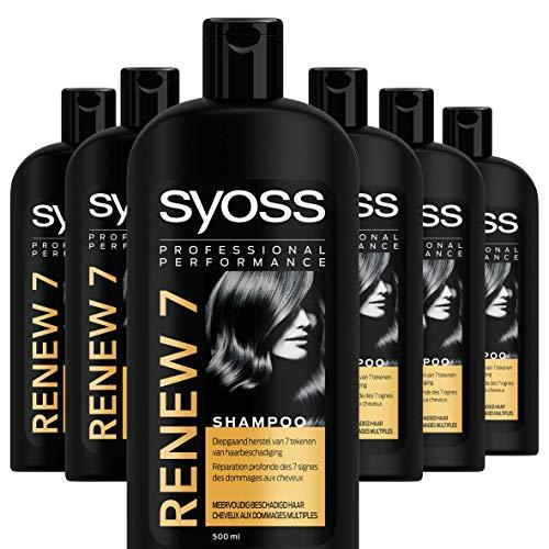 Syoss Renew 7 Shampoo 500ml, 6 stuks