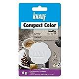 Knauf Compact Colors Farb-Pigmente – Pigment-Pulver zum Einfärben von Putz, nicht staubend, hoch konzentriert und wischfest, Mokka, 6-g