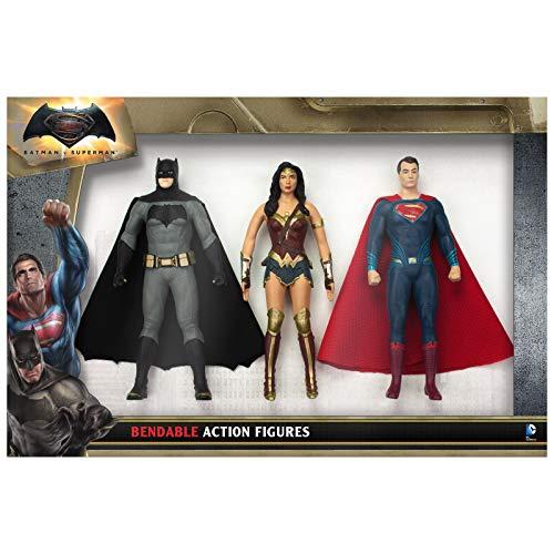 """NJ Croce Batman Vs Superman Action Figure Boxed Set, Multicolor, 8"""""""