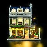 LIGHTAILING Conjunto de Luces (Creator Restaurant Parisien) Modelo de Construcción de Bloques - Kit de luz LED Compatible con Lego 10243 (NO Incluido en el Modelo)