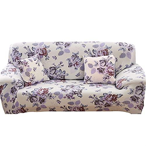 HMGANG Sofá estirado elástico Sofa Sofa Caja de sofá Todo Incluido para la Sala de Estar Cubierta de sofá 1/2/3/4 plazas (Color : 19, Specification : 1 Seat 90 140cm)