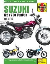 Suzuki RV125 & 200 Van Van Service and Repair Manual 2003-2016
