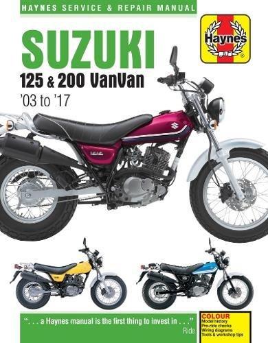 Suzuki RV125/200 VanVan (03 - 17) Haynes Repair Manual