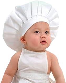 1c9cb2be9a6c Koly Bebé Cocinero traje blanco apoyo de la fotografía