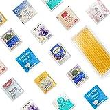 Good Sleep Tea Sampler 40 Teabags with 10 Honey Sticks. Multi-brands.