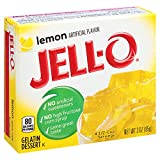 Makes a delicious dessert Naturally fat free, contains no artificial sweeteners or high fructose corn syrup Contains 80 calories per serving; each box makes 4 servings Easy to make: stir gelatin mix with 1 cup of boiling water, then stir in 1 cup of ...