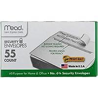 Press-it Seal-it Security Envelope, 3 5/8 +? 6 1/2, 20 lb, White, 55/Box (並行輸入品)