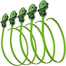 Green Gobbler Hair Grabber Drain Tool | Hair Clog Remover | Drain Opener for Sinks, Tubs & Showers - Pack of 5
