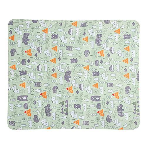 Labuda Almohadilla de enfriamiento para Perros, Almohadilla de enfriamiento para Mascotas Respetuoso del Medio Ambiente y fácil de Limpiar para jardín para el hogar(XL: 71 * 111cm)