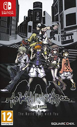 The World Ends With You Jeu Switch