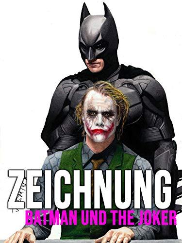 Clip: Zeichnung Batman und the Joker