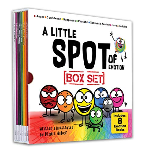 A Little SPOT of Emotion Box Set (8 Books: Anger, Anxiety, Peaceful, Happiness, Sadness, Confidence,