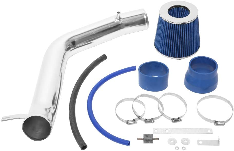 Filter Fit for 2004 2005 2006 2007 2008 Acura TL 3.2L V6 Blue 3 inch Air Intake Kit