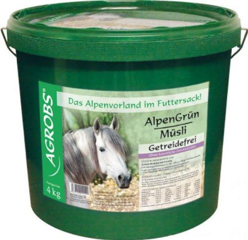 Agrobs Alpengrün Müsli, 1er Pack (1 x 4000 g)