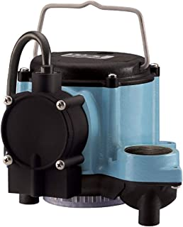Little Giant 6-CIA Automatic Submersible Sump Pump, 115V, 1/3HP, 10-Foot cord