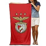 xcvgcxcvasda toalla de playa, toalla de baño, oro Sport Lisboa Sl Benfica Logo 31 '51' toalla de playa (31 'x 51' pulgadas)