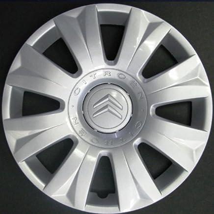 Wheeltrims Set de 4 embellecedores nuevos para Citroen C3 Picasso 2010> / C3 2002> / C4 2010> / C4 Picasso 2006> con Llantas Originales de 15''