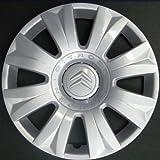 Wheeltrims Set de 4 embellecedores nuevos para Citroen C3 Picasso 2010 / C3 2002 / C4 2010 / C4 Picasso 2006 con Llantas Originales de 15''
