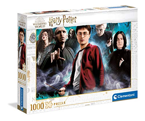 Clementoni 39586 Puzzle Harry Potter – Erwachsene 1000 Teile, Made in Italy, Mehrfarbig