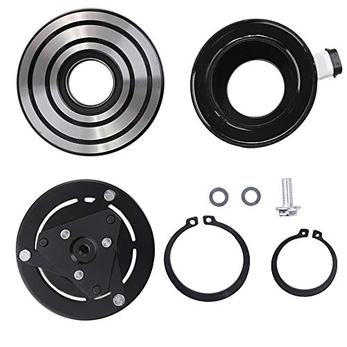 15-4982 22692378 AC Compressor Clutch Assy for Chevy Impala Malibu Pontiac G6 Saturn Aura GM Vehicles Air Conditioning Repair Kit Plate Pulley Bearing Coil