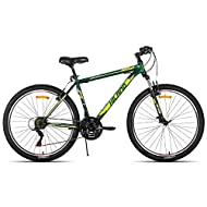 Hiland 26 Inch Mountain Bike 21Speed MTB Bicycle for Men with 17 Inch Suspension Fork Urban Commuter...