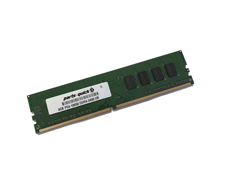 観察するカポック急流4?GBメモリfor Gigabyte ga-ax370-gaming 5マザーボードddr4?2400?MHz非ECC UDIMMメモリ( parts-quickブランド)