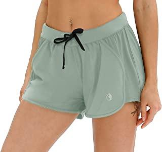 Workout Shorts for Women - Activewear Exercise Athletic...