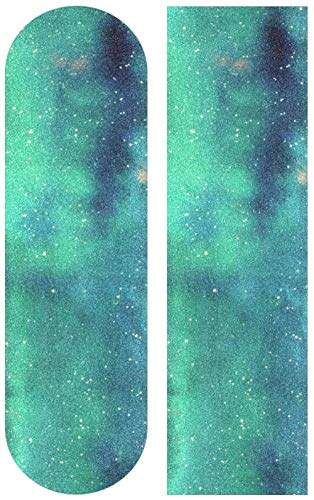 Colorido Abstracto Galaxy Skateboard Grip Tape Sheet Scooter Deck Sand Paper 9   x 33 Longboarding Scooter Skateboard Antideslizante Papel de Lija Impermeable Antideslizante