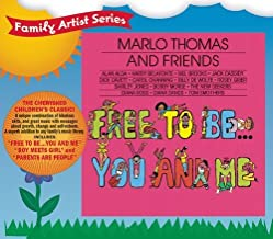 Free To Be... You And Me by Marlo Thomas And Friends, Marlo Thomas, Diana Ross, Harry Belafonte, Mel Brooks, [Music CD]