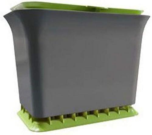 Full Circle Odor Free Countertop Compost Collector, Green Slate, Fresh Air