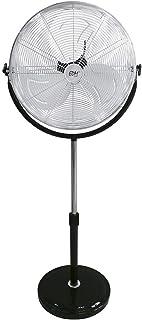 EDM Ventilador de pie 120W 50cm Base Redonda 33939