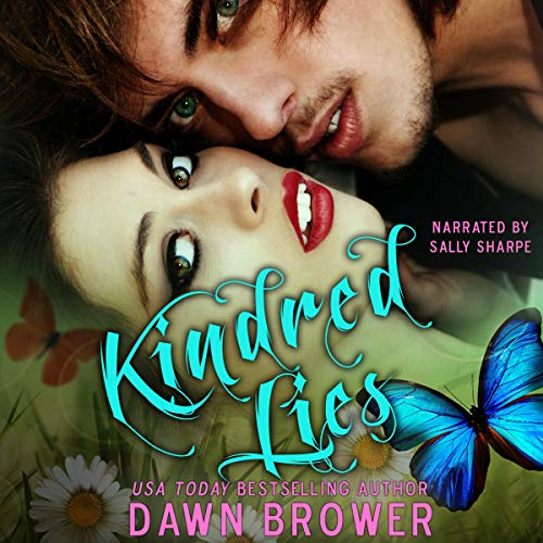 Kindred Lies audiobook cover art