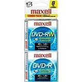8cm DVD-R/RW Camcorder - 6 Pack DVD-R + 2 Pack DVD-RW (567640) -