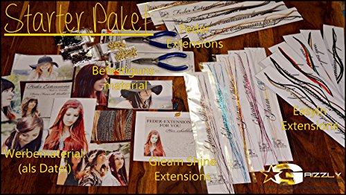 Salon Starter Pack : – Plumes + matériel de fixation + Publicité Photos, etc.