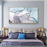 Carteles de pintura de lienzo de tinte de tinta abstracta e impresión de imágenes artísticas de pared rosadas modernas para sala de estar dormitorio comedor decoración del hogar 40x70 CM (sin marco)