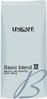 ユニカフェ ベーシックブレンド コーヒー(豆) 500g レギュラー(豆)