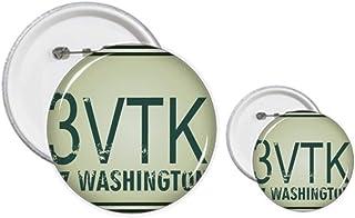 Kit de création de boutons et de badges américains pour voiture
