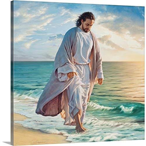 Be Still My Soul Canvas Wall Art Print, Christianity Artwork