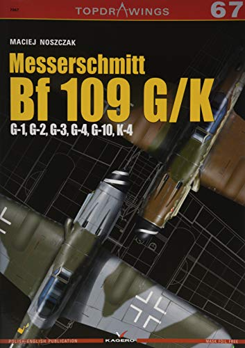 Price comparison product image Messerschmitt Bf 109 G / K - G-1,  G-2,  G-3,  G-4,  G-10,  K-4 (Top Drawings)