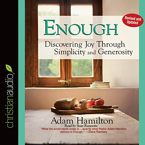 Enough audiobook cover art